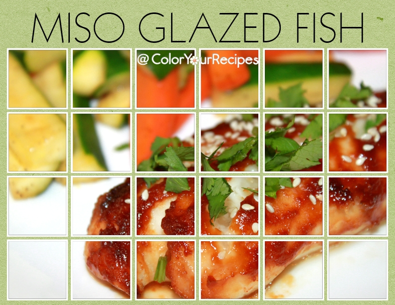 Simple Miso Glazed Fish Recipe (4) ~ Color Your Recipes
