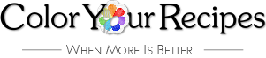Color You Recipes Logo