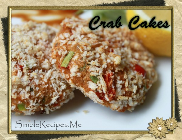 how to serve crab cakes